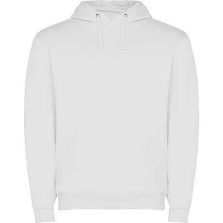 sudadera capucha blanca